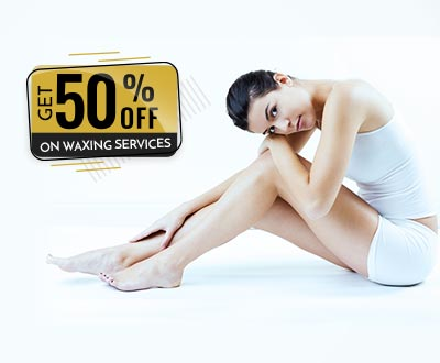 Get 50% off on Waxing Services