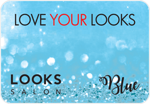 Looks Salon Pre-Paid Blue Card
