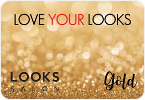 Looks Salon Pre-Paid Gold Card