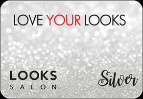 Looks Salon Pre-Paid Silver Card