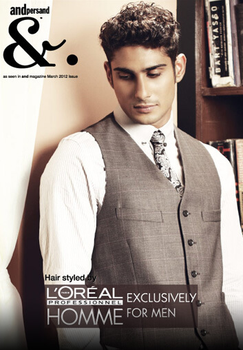 loreal professional hair style for men