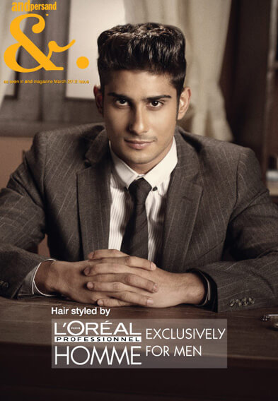 prateik babbar professional hairstyle - looks Salon
