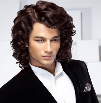 Curly Haistyle for Men - Looks Salon