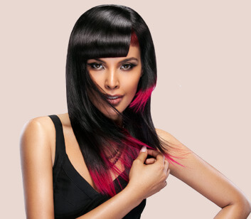 Hair Style with Colours - Looks Salon