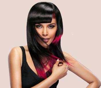 Hair Style with Colours - Looks Salon