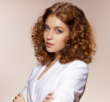 Curly Hairstyle for Girls - Looks Salon