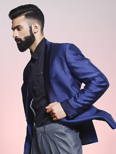 Hair and Beard Style for Men - Looks Salon