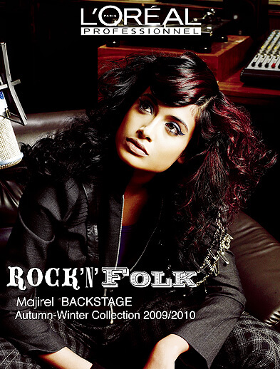 l'oreal professionnel rock n folk hairstyle