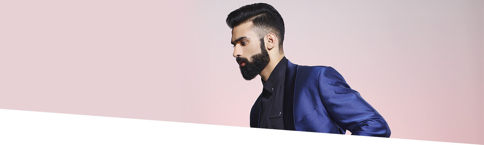 Hair Cut with Beard Style - Looks Salon
